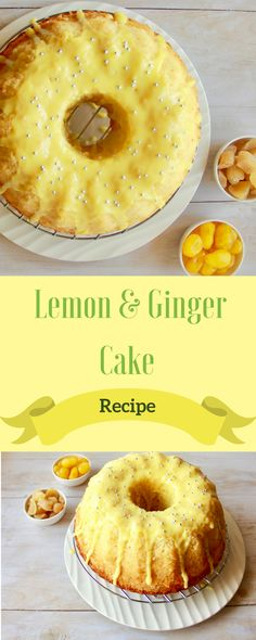 Recipe light and soft Lemon cake with a hint of ginger. A good option to serve w… Recipe light and soft Lemon cake with a hint of ginger. A good option to serve with tea and coffee or as a dessert with some whipped cream Lemon Ginger Cake Recipe, Lemon Pudding Cake, Lemon Recipes, Cake Recipes, Dessert Recipes, Tea Cakes, Cupcake Cakes, Easter Dinner Recipes, Lemon Cupcakes