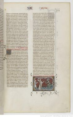 Grandes Chroniques de France Fol 329r, 1375-1380, Henri du Trévou & Raoulet d'Orléans
