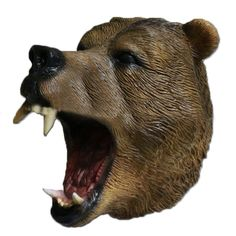 Masquerade Carnival Fancy Latex Overhead Woodland Brown Bear Party Masks