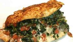 Make this diabetes-friendly, one-dish spinach dip stuffed chicken using items you probably already have on hand. Tender chicken breasts stuffed with spinach, rotel and cheese make a quick, low carb meal option. Cumin Chicken, Baked Greek Chicken, Quick Meals To Make, Black Bean Chicken, Spinach Dip, Low Carb Recipes, Dishes, Eat, Cooking