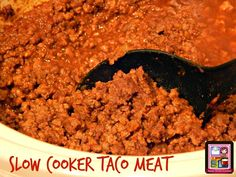Kandy's Kitchen Kreations: Slow Cooker Taco Meat