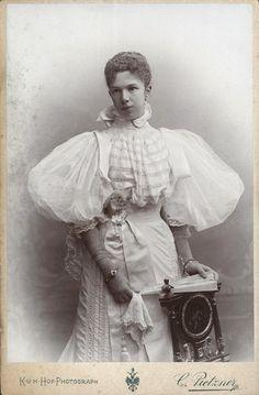 Marie Valerie, Erzherzogin von Österreich - By Carl Pietzner, 1896. Daughter of Empress Elisabeth