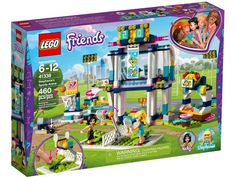 This LEGO Friends 41338 Stephanie's Sports Arena features 2 cool game functions to keep sports fans playing all day long! Shop Lego, Buy Lego, Lego Lego, Lego Ninjago, Lego Sports, Sports Toys, Taco Bar, Jouer Au Basket, Lego Friends Sets