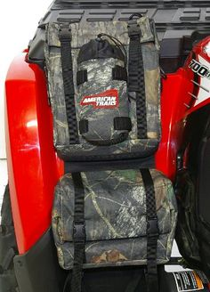 AM. TRAILS ATV FENDER BAG MOBU