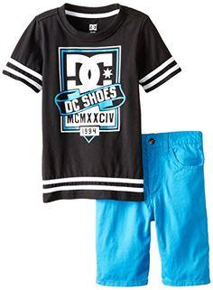 DC Shoes Co Little Boys' Tee with Shorts, Blue, 7 DC http://www.amazon.com/dp/B00OTITIZW/ref=cm_sw_r_pi_dp_k.trvb0ZS14GX