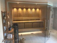 Sauna Design, Steam Room, Saunas, Relax, Backyard, Wellness, Bathroom, Furniture, Home Decor