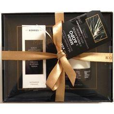 Korres Black Pine Antiwrinkle/Lifting Serum 30ml+Night Cream 40ml All Skin Types