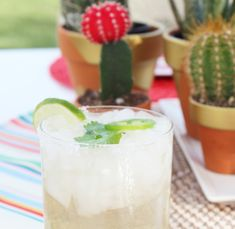 Sip It :: Jalapeno Cilantro Margarita | Thoughtfully Simple