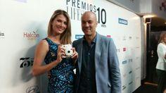 En los #premioslifestyle con #photoflyer #instaxmini8 black and white y #missmundo