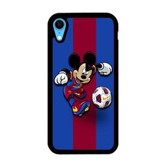 Mickey Barcelona Fc iPhone XR Case   Miloscase Fc Barcelona, Iphone 11, Prints