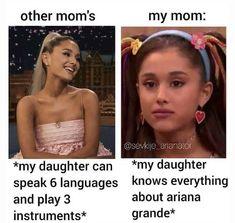Cabello Ariana Grande, Ariana Grande Meme, Ariana Tour, Ariana Grande Photoshoot, Ariana Grande Pictures, Stupid Funny Memes, Funny Relatable Memes, Funny Facts, Ariana Grande Background