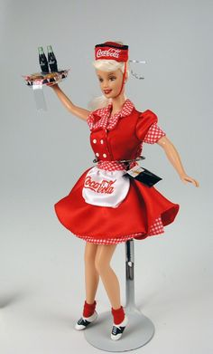 coca cola barbie