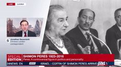 Jonathan Sacerdoti reports: Shimon Peres' death doesn't make UK front pages