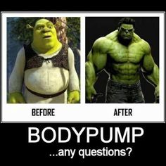 Before & After BodyPump... Any Questions