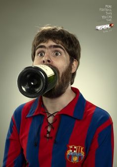 Gol Barça. Agency: Young & Rubicam. #Spain #Football #Ads