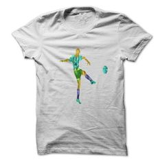 Colorful soccer player T Shirts, Hoodies. Get it here ==► https://www.sunfrog.com/Sports/Colorful-soccer-player-36532961-Guys.html?57074 $19