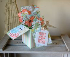 Julie's Japes - A Top UK Independent Stampin' Up! Demonstrator : Another Card in a Box