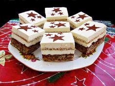 Prajitura Deliciu. Una dintre cele mai bune prajituri! - Rețete Merișor Romanian Desserts, Romanian Food, Baking Recipes, Cake Recipes, Dessert Recipes, Biscuits, Pastry Cake, Sweet Tarts, Ice Cream Recipes