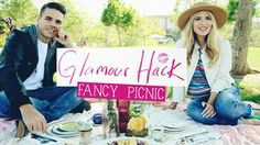 DIY Fancy Picnic! Make your next outdoor excursion a BEAUTIFUL one!