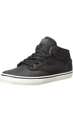 Globe Men's Motley Mid Skate Shoe, Black/Antique, 7 M US Best Price