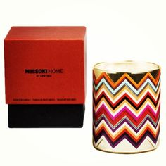 Missoni Candle, perfect for any living room.