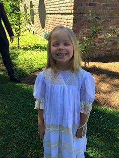 Elizabeth is beautiful in her Mela Wilson Heirloom dress style 4011WE for order write at mela.wilson2@comcast.net