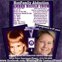 Missing Amber Nicole Crum