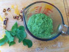 Arugula Spinach Walnut Pesto