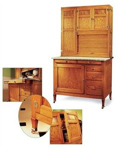 1000 images about hoosier cabinets and parts on pinterest for American woodcraft kitchen cabinets