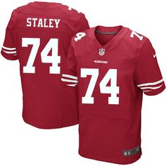 Joe Staley Elite Jersey-80%OFF Nike Joe Staley Elite Jersey at 49ers Shop. (Elite Nike Men's Joe Staley Red Jersey) San Francisco 49ers Home #74 NFL Easy Returns.