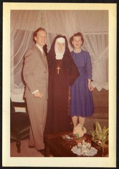 Clark & Minnie weren't fooling Sister Joyce Marie. She knew they had fornication in their hearts.