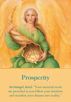 Oracle Card Prosperity | Doreen Virtue | official Angel Therapy Web site