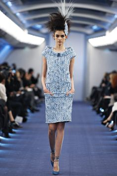 Chanel Spring 2012 Couture Fashion Show - Isabella Melo