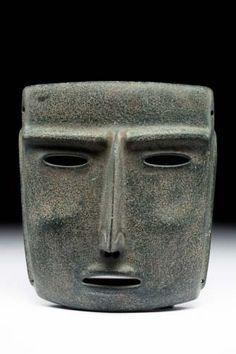 Máscara - Museo Nacional de Antropología Procedencia: Sultepec, Guerrero 200/900 dc