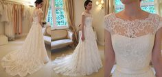 Cravos de Amor: Vestidos de noiva com renda