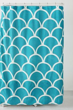 Everything Turquoise: Bath · Mermaid Shower CurtainMermaid ...