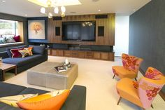 Horton & Co | Portfolio | Modern Family Room