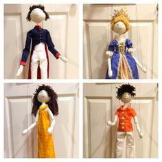 Hand stitch doll patern by Verity Hope Yarn Dolls, Felt Dolls, Paper Dolls, Dolls House Figures, Felt Doll Patterns, Rustic Baskets, Stitch Doll, Doll Making Tutorials, Pretty Hands