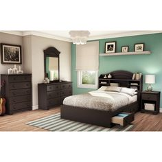 South Shore Furniture Summer Breeze Mates Bed