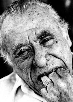 Charles Bukowski by Herb Ritts