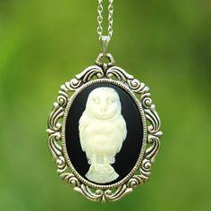 (45) Fab.com | Owl Necklace