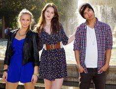 Xenia Goodwin, Alicia Banit and Jordan Rodrigues...love the clothes