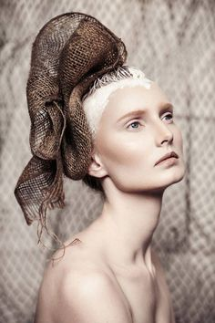 Organic Beauty Editorial | by Lindsay Adler | Amazing Headpieces | Fashion |