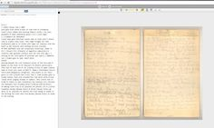 John Muir's Journals: Read, Decipher, Share University Of The Pacific, John Muir, Transcription, California, Reading, Handwriting, Journals, June, Collections