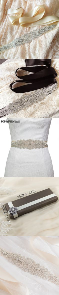 Beautiful Topqueen S71 Free Shipping Wedding Belt Crystal Rhinestone Belt Bridal Sash Wedding Dress Accessories Wedding Belt Crystal Bridal Blets