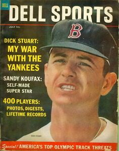 Sport Magazine 1964 | 1964-Dell-Sports-Magazine-Dick-Stuart-Boston-Sandy-Koufax-Self-Made ...