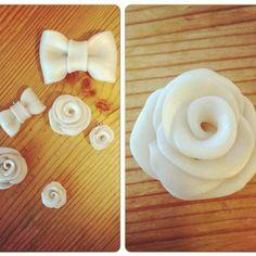 Laga i gårkveld :) #Diy #polymerclay #cernit #jewelry