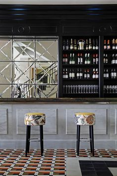 Hispania restaurant in London by Spanish designer Lorenzo Castillo #ChairRestaurant #restaurantdesign