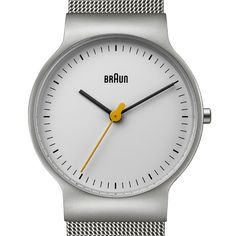 A new take on a classic design, the super-slim BN0211 pays homage to the work of industrial designers Dieter Rams and Dietrich Lubs, who created iconic products for German brand Braun. It also won't stand you up on a date.