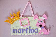 Fairy Creativa: Fuoriporta portafoto in feltro... per una principessa!